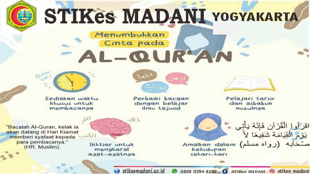 GENERASI QUR'ANI STIKes MADANI Yogyakarta