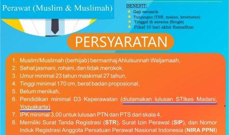 CAREER BP IBS STIKes Madani Yogyakarta